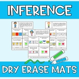 Distance Learning Inference Dry Erase Mats Speech Language