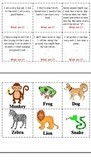INFERENCE Short stories for First Grade (Animal-themed)