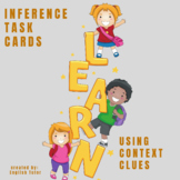 INFERENCE TASK CARDS using Context Clues # 10