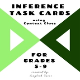 INFERENCE TASK CARDS using Context Clues # 15