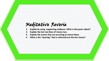INFERENCE TASK CARDS using Poetry