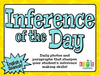 INFERENCE of the DAY Packet - English & Spanish