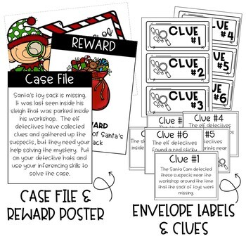 INFERRING: THE CASE OF THE MISSING TOY SACK