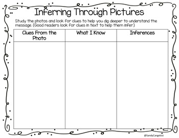 DRAWING INFERENCES WITH PICTURES #2 - Google Slides Included