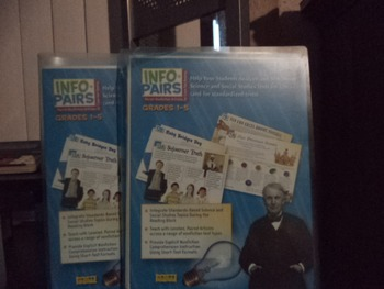 INFO PAIRS  SCIENCE AND SOCIAL STUDIES (SET OF 2)