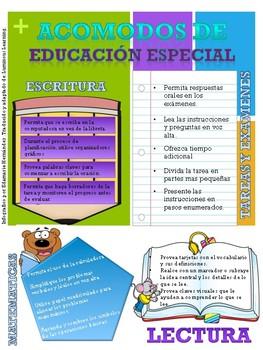 INFOGRAFICO - Acomodos en el Programa de Educación Especial - DEPR