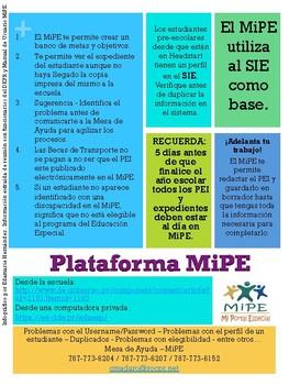 INFOGRAFICO - Plataforma MiPE - DEPR