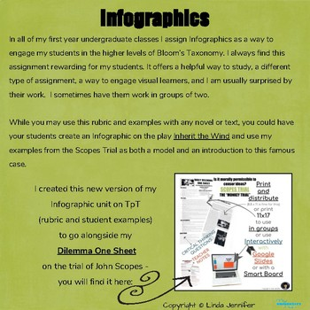 Inception Writer Infographic Series Focus On The Scopes Trial Sample Argumentative Essay High School also High School Entrance Essay Examples Infographic Series Focus On The Scopes Trial By Linda Jennifer  Tpt Essay Examples For High School Students