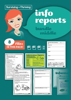 INFORMATION REPORTS - Bundle Grades 2-4