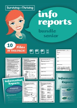 INFORMATION REPORTS- Bundle Grades 4-7