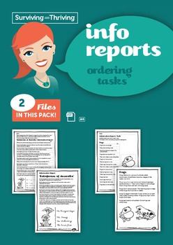 INFORMATION REPORTS - Ordering Tasks