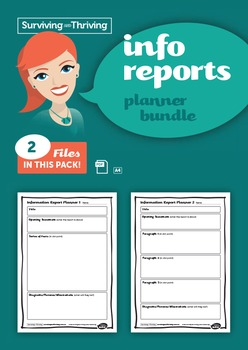 INFORMATION REPORTS - Planner Bundle