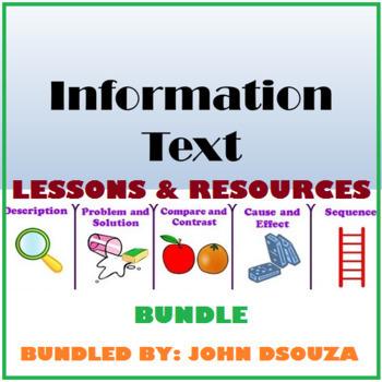INFORMATION TEXT TYPES: BUNDLE