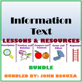 INFORMATION TEXT TYPES: BUNDLE