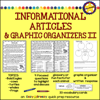 INFORMATIONAL ARTICLES AND GRAPHIC ORGANIZERS II