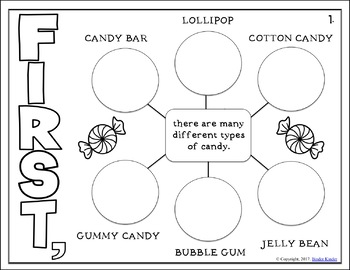 Candy: Informational Text Cross Curricular Style (K-1)