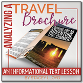 INFORMATIONAL TEXT LESSON {Analyzing a Travel Brochure}