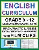 Informational Text & Reading Literature with VIDEOS: Grade 9 - 12 ELA BUNDLE
