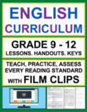 Informational Text & Reading Literature with VIDEOS: Grade 9 - 12 ELA BUNDLE