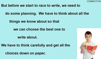 INFORMATIONAL WRITING - 15 SESSIONS - SMART Notebook Version