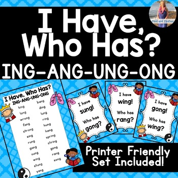 "ING ANG UNG ONG  [Welded Sounds] ""I Have, Who Has?"""