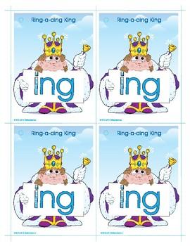 ING (Ring-a-ding King) Word Buddy Card