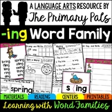 Word Families Worksheets, Centers, Guided Reading -ING Words