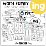 ING Word Family Activities