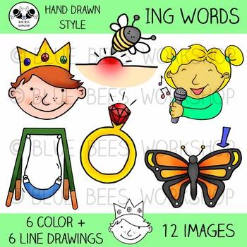 ING Word Family Clip Art