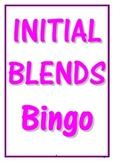 INITIAL BLENDS BINGO