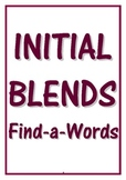 INITIAL BLENDS FIND-A-WORDS