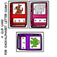 INITIAL SOUND AND LETTER MATCH CLIP CARDS  BOOK THEME
