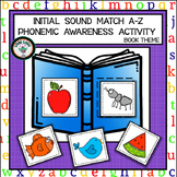 INITIAL SOUNDS PHONEMIC AWARENESS MATCHING ACTIVITY