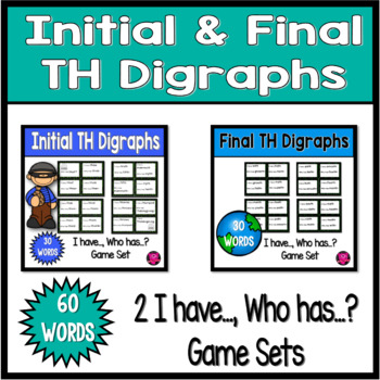 Intial and Ending Digraphs with TH I have Who Has Game Sets
