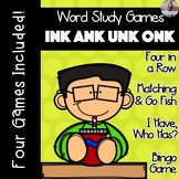 INK ANK UNK ONK [[Word Family GAMES!]]