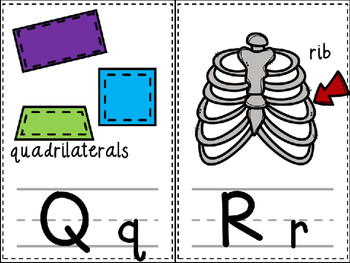 INK SAVER Classroom Alphabet Cards