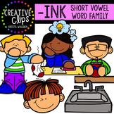 INK Short I Word Family {Creative Clips Digital Clipart}