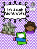 INK and ANK Independent Word Work