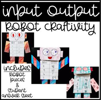 INPUT OUTPUT ROBOT CRAFTIVITY