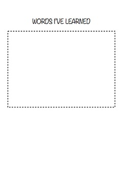 INQUIRY CIRCLE template