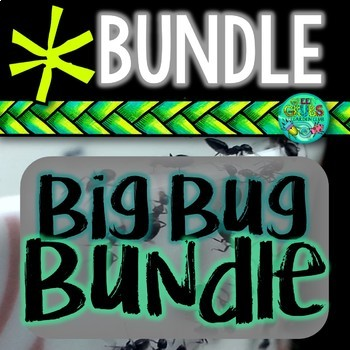 BUG BUNDLE! Ants, Butterflies, Bees, Worms, Snails, Silkworms + more...