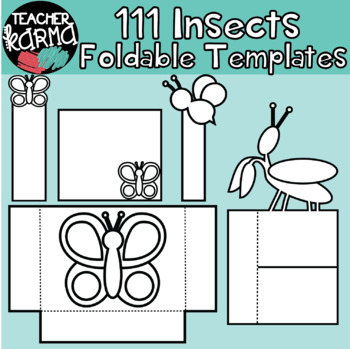 INSECTS / BUGS: 111 Foldables, Interactives, Flip Book Templates