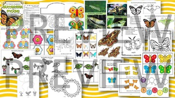 INSECTS BUNDLE Science Math Literacy Centers & Activities for Preschool & Pre-K