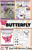INSECTS NONFICTION UNIT (Butterfly, Ant, Ladybug, Dragonfly, Honeybee)