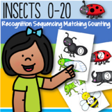 INSECTS Counting 0-20 Recognition Sequencing Matching Voca