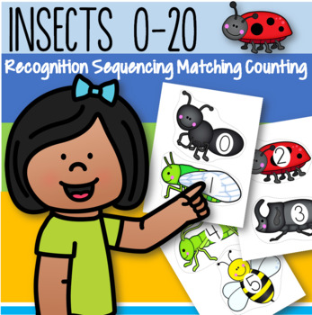 INSECTS Counting 0-20 FREE