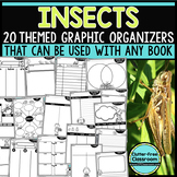 INSECTS  Graphic Organizers for Reading Reading Graphic Organizers