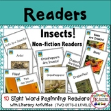 INSECTS! Non-fiction Beginning Readers for Guided Reading {CCSS}
