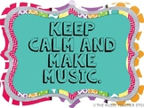 MUSIC QUOTES POSTER SET FOR YOUR MUSIC ROOM!  INSPIRING WO
