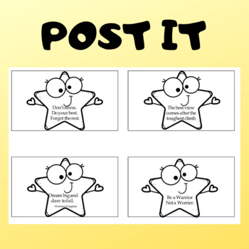 Testing Motivation Notes and Reminders Post It and Make it Stick